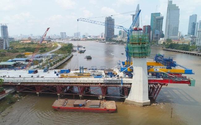Dự kiến cầu Thủ Thiêm 2 thi công trở lại trước ngày 15/4, hoàn thành năm 2022